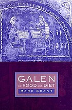 Galen : on food and diet