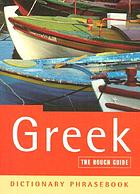 Greek : a rough guide dictionary phrasebook