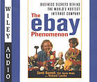 The eBay phenomenon : business secrets behind the world's hottest internet company