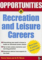 Opportunities in recreation and leisure careers