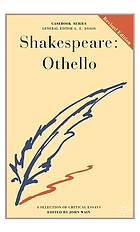 Shakespeare: Othello; a casebook