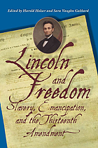 Lincoln and freedom : slavery, emancipation, and the Thirteenth Amendment