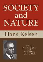 Society and nature; a sociological inquiry