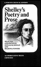 Shelley's Poetry and prose : authoritative texts, criticism