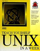Teach yourself UNIX in a week