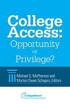 College access : opportunity or privilege?
