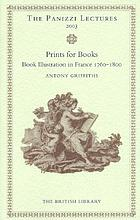 Prints for books : book illustration in France, 1760-1800