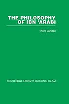 The philosophy of ibn ʻArabī