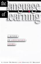 The language of learning : a guide to education terms