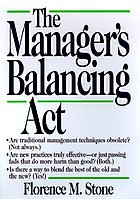 The manager's balancing act