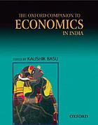 The Oxford companion to economics in India
