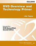 DVD overview and technology primer