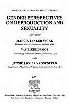 Gender perspectives on reproduction and sexuality