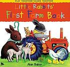 Little Rabbits' first farm book