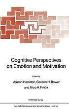 Cognitive perspectives on emotion and motivation