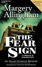 The fear sign