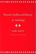 Russian intellectual history : an anthology