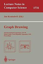 Graph drawing : proceedings