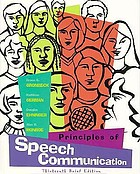 Principles and types of speech communication