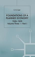 Foundations of a planned economy, 1926-1929