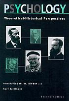 Psychology, theoretical-historical perspectives