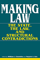 Making law : the state, the law, and structural contradictions