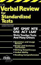 Cliffs verbal review for standardized tests