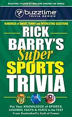 Rick Barry's super sports trivia game
