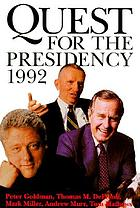 Quest for the presidency, 1992