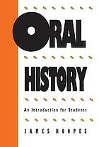 Oral history : an introduction for students