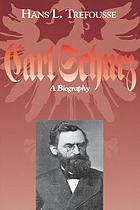 Carl Schurz, a biography