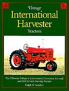Vintage International Harvester tractors