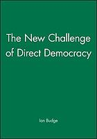 The new challenge of direct democracy