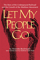Let my people go : the story of the Underground Railroad and the growth of the abolition movement