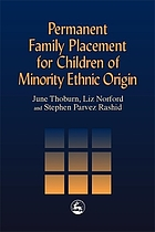 Permanent family placement for children of minority ethnic origin