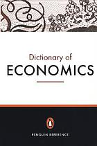 The American dictionary of economics