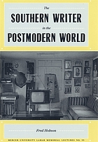The southern writer in the postmodern world