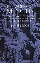 The works of Mencius