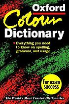 The Oxford color dictionary