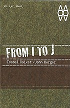 From I to J : Isabel Coixet / John Berger