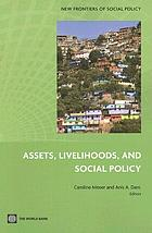 Assets, livelihoods, and social policy
