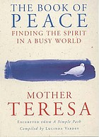 The book of peace : finding the spirit in a busy world
