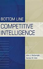 Bottom line competitive intelligence