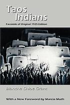 Taos Indians : facsimile of original 1925 edition