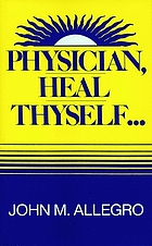 Physician, heal thyself--