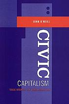 Civic capitalism : the state of childhood