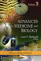Advances in Medicine and Biology. Volume 3