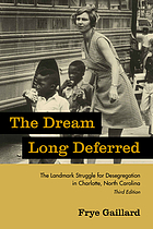 The dream long deferred