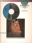 Songs of Joseph Marx : medium voice : with a companion CD of recorded performances