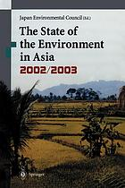The state of the environment in Asia 2002/2003